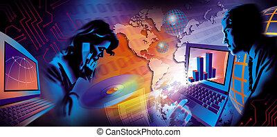 Unternehmenskommunikation illustriert