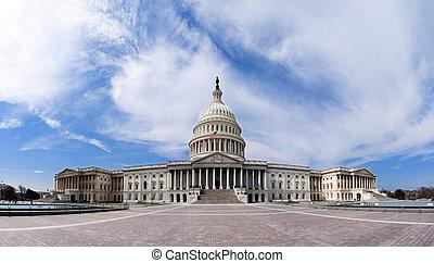 US-Hauptstadt - Regierungsgebäude.