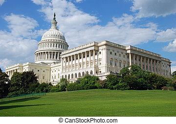 US-Kapitol in Washington DC.