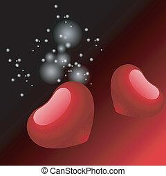 valentine, herz, abbildung