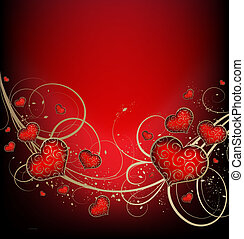 valentines, hintergrund