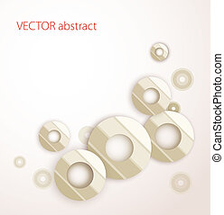 Vector abstrakt zurück.
