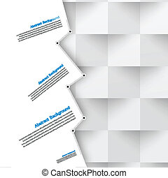 Vector abstrakter Hintergrund. Polygonblau