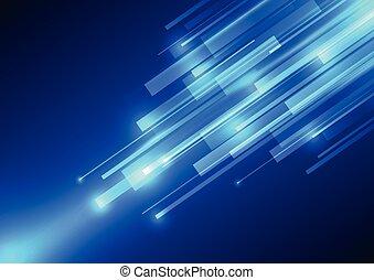 Vector Digital Speed Technologie, abstrakter Hintergrund.