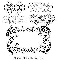 Vector-ornament-set-7