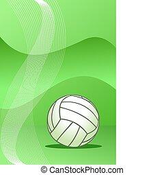 Vector Volleyball Hintergrund.