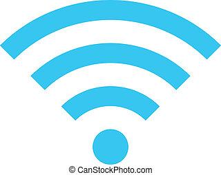 Vector Wireless Network Icon.