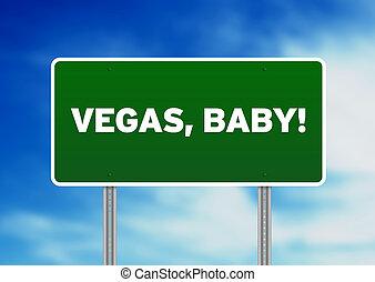 Vegas, Baby-Autobahnzeichen