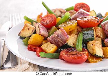 vegetarier, mahlzeit