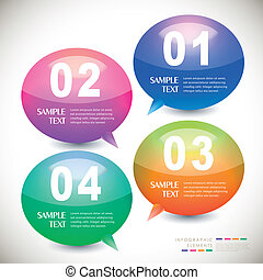 Vektor abstrakte Infographics