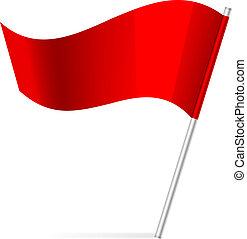 Vektor Illustration der Flagge