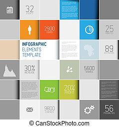 Vektor-Straßen-Platz, Hintergrund-Illustration / infografisches Muster