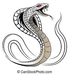 Vektorenschlange, Kobra