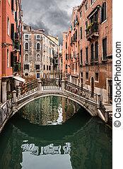 Venedig-Brücke.