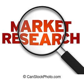 Vergrößerung von Glas - Marktforschung