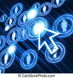 vernetzung, struktur, sozial