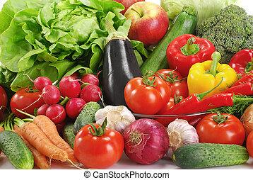 Verschiedene rohes Gemüse.