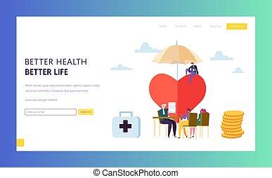 Versicherungspolice für Familien-Gesundheitsversicherung