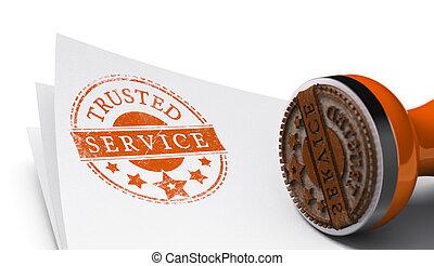 Vertrauenswürdiger Service, garantierte Zufriedenheit