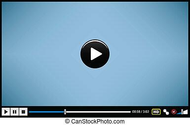 Video-Medien-Spieler