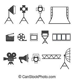 Videoproduktionssymbole
