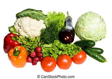 Viele Gemüse.