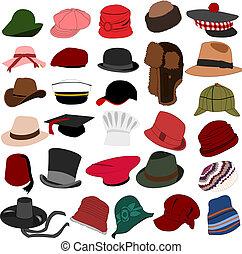 Viele Hüte setzen 04