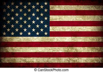 Vintage Usa Flagge