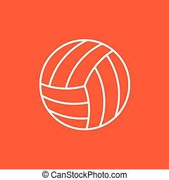 Volleyball-Ball-Symbol.