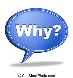Warum Frage stellt häufig gestellte Fragen und Antworten.