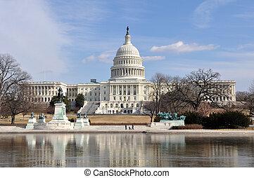 Washington DC-Capitol Hill-Gebäude
