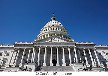 Washington DC Kapitol.