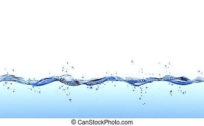 Wasserspritze.