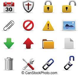 Web-Icons Vektor.