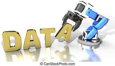 web, lagerung, technologie, robotic, daten