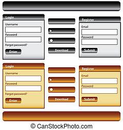 Webdesign-Elements