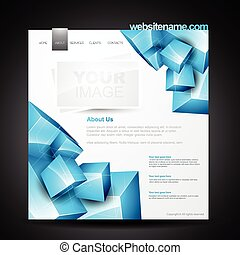 Webpage Template.