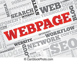 Webseite.