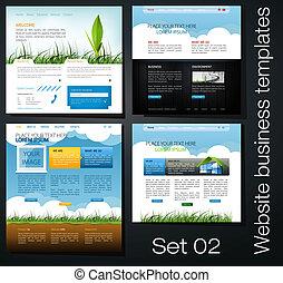 Website Business Templates setzt 02.
