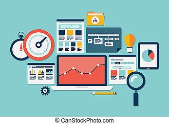 website, seo, analytics, heiligenbilder