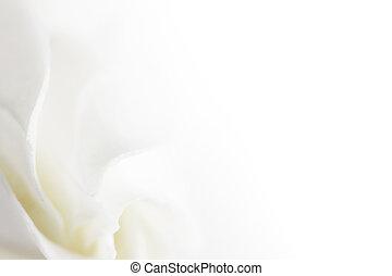 weiße blume, weich, hintergrund