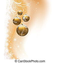 weihnachten, hintergrund, flitter