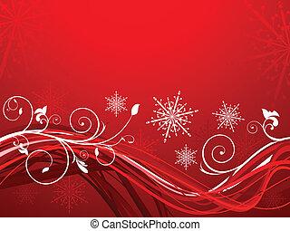 weihnachten, künstlerisch, abstrakt