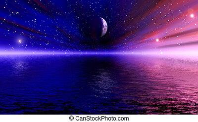Weltraumvision