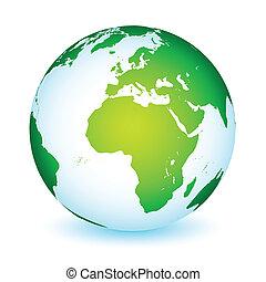 Weltwelt-Weltplanet-Ikone.