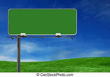 Werbeanzeige für Werbetafel Freeway