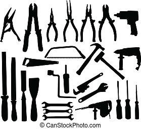 Werkzeugsammlung