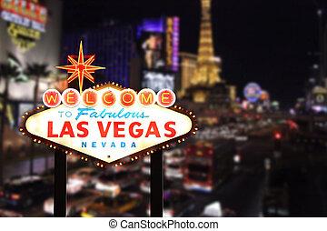 Willkommen in Las Vegas nevada