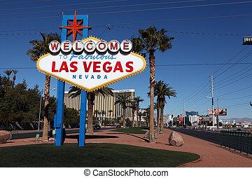 Willkommen zum fabelhaften Las Vegas-Schild
