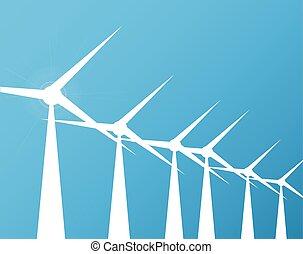 windmühlen, hintergrund